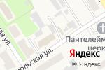 Схема проезда до компании Магазин бытовой химии и хозяйственных товаров в Каменецком