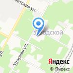 Центр образования №10 на карте Новомосковска