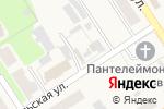Схема проезда до компании Магазин текстиля для дома в Каменецком
