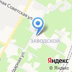 Апельсин на карте Новомосковска