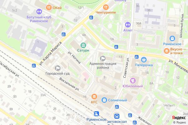 Ремонт телевизоров Город Раменское на яндекс карте
