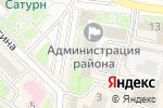 Схема проезда до компании Территориальная избирательная комиссия в Раменском