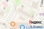 Схема проезда до компании Национальный платежный сервис в Раменском