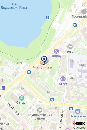 ПАРИКМАХЕРСКАЯ БЛЮЗ на карте Раменского