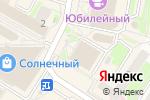 Схема проезда до компании Банкомат, Банк Уралсиб, ПАО в Раменском