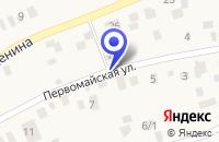Схема проезда до компании КАФЕ НОВА в Лосино-Петровском