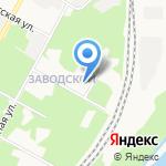 Новомосковск-1 на карте Новомосковска