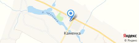 Твирова и К на карте 2 Каменецкой