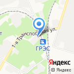 Туластройтермоизоляция на карте Новомосковска