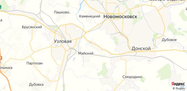Каменка на карте
