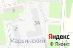 Схема проезда до компании Марьинский в Электроуглях