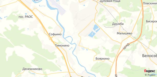 Малахово на карте