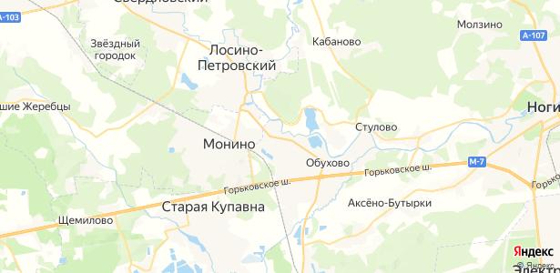 Балобаново на карте
