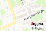 Схема проезда до компании Продуктовый магазин в Широком