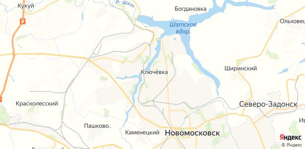 Ключевка на карте