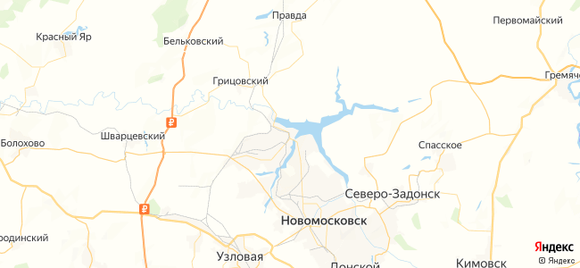 128 автобус в Новомосковске