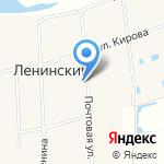 Почтовое отделение №314 на карте Ленинского