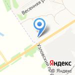 ГазИнжиниринг на карте Новомосковска