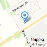 Газпром на карте Новомосковска