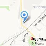 Vetera на карте Новомосковска