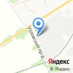Столовая на карте Новомосковска