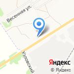 Асс на карте Новомосковска