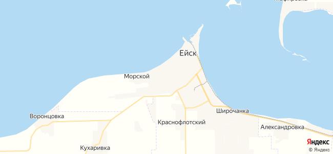 Мини-гостиницы Ейска - объекты на карте