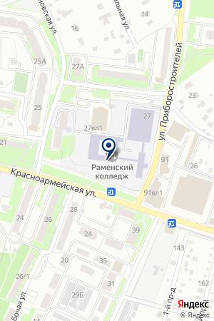 РАЗВЛЕКАТЕЛЬНЫЙ ЦЕНТР МЦ 27-Б на карте Красноармейска