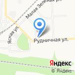 Фаворит-спорт на карте Новомосковска