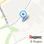 Отдел ГИБДД на карте Новомосковска