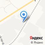 Кама-Тула на карте Новомосковска