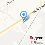 Автоскат на карте Новомосковска