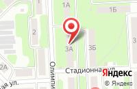 Схема проезда до компании Среднерусский банк Сбербанка России в Новомосковске