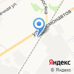 Мега Авто на карте Новомосковска