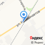 САМ на карте Новомосковска