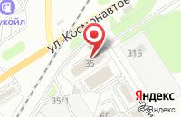 Схема проезда до компании Дортех в Новомосковске