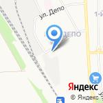 Детский сад №6 общеразвивающего вида на карте Новомосковска