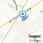 Нотэк на карте Новомосковска