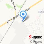 Нив на карте Новомосковска