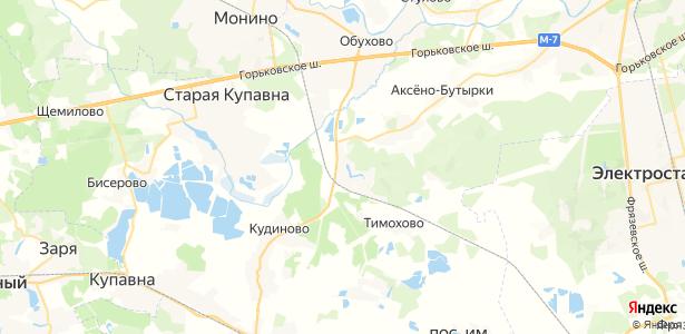 Колонтаево на карте