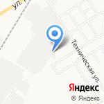 Автотранспортное предприятие №10 на карте Новомосковска