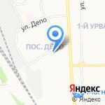 Старый солдат на карте Новомосковска