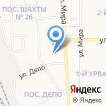 У Седы на карте Новомосковска