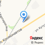 Юлиус на карте Новомосковска