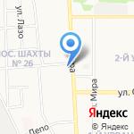 Прометей на карте Новомосковска