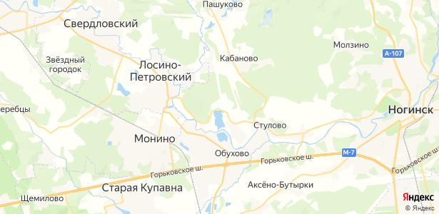 Аборино на карте