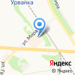 Индиго на карте Новомосковска