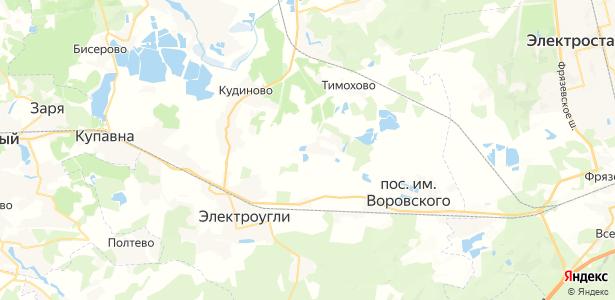 им. Воровского на карте