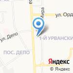 Сирена-Автозвук на карте Новомосковска