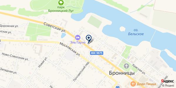 УПРАВЛЕНИЕ ГОРОДСКОГО ХОЗЯЙСТВА на карте Бронницах